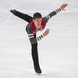 Valtter Virtanen är för tillfället tia i Innsbruck.