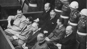 Hermann Göring, Rudolf Hess m.fl. vid Nürnbergrättegången