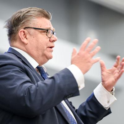 Sannfinländarnas ordförande Timo Soini