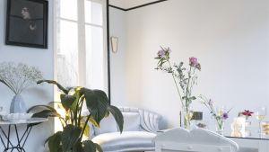 Villa Marceau, ett ljust inrett rum.