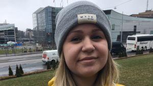 Personportätt på Ida Salminen
