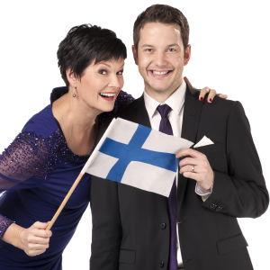 Salla Paajanen ja Jaakko Loikkanen