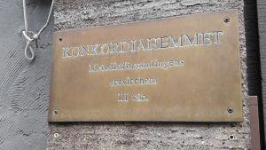 Konkordiahemmet stängde i december 2017.
