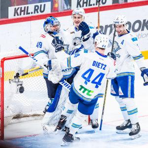 I november vann Barys Astana över Jokerit i Helsingfors.