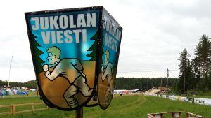 Jukolakavlen i orientering i Villmanstrand 2016.