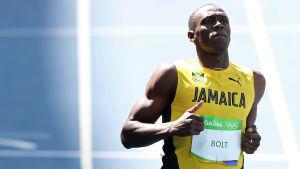 Den nionde OS-dagen kulminerar med Usain Bolts jakt på OS-guldet på 100 meter.