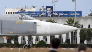 Rysk flygbas i Syrien, flygbas, ryssland, syrien
