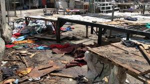 Många dödades i bombattack i centrala Bagdad 17.9. 2015