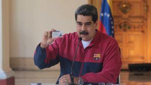 Venezuelan presidentti Nicolás Maduro ilmoitti karanteenitoimien kiristämisestä viime sunnuntaina.