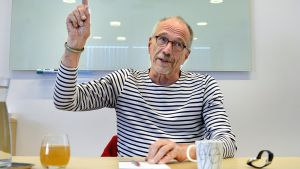 Europaparlamentariker Nils Torvalds (sfp) har lobbat för finlands linje i Europaparlamentet.