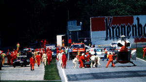 Läkarna lyckades inte rädda Ayrton Senna.