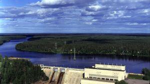 Fortums vattenkraftverk i Pyhäkoski