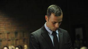 Pistorius under rättegången.