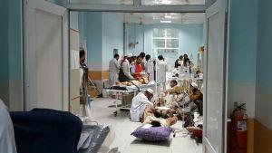 Sjukhuset i Kunduz är enligt Läkare utan gränser överfullt.