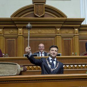 Volodymyr Zelenskyi.
