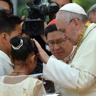 Påven i Manila.