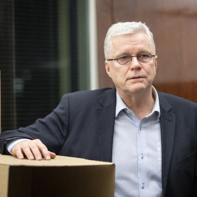 Valviras överdirektör Markus Henriksson
