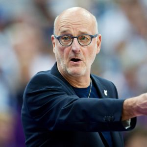 Henrik Dettmann koripallon EM-kilpailuissa 31.8.2017.