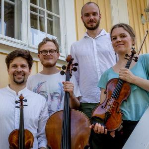 """Kamus-kvartetti on """"Meidän festivaalin"""" taiteellinen johtaja"""