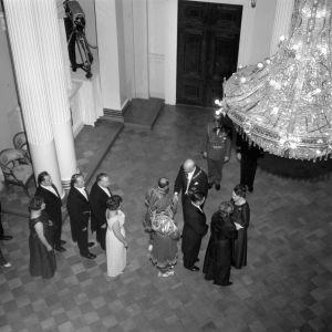 Presidentens mottagning 1964.