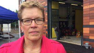 Axxells rektor Lena Johansson.