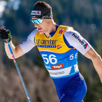 Dario Cologna under VM i Seefeld 2019.