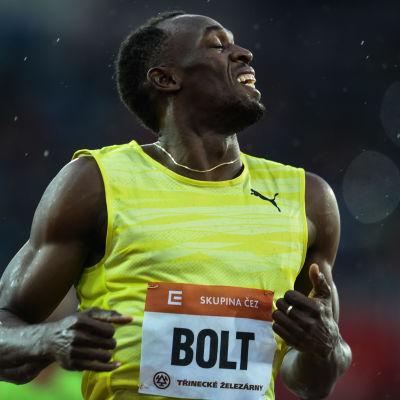 Usain Bolt är världsstjärna.