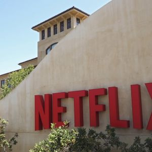 Netflix huvudkontor i Kalifornien 2015.