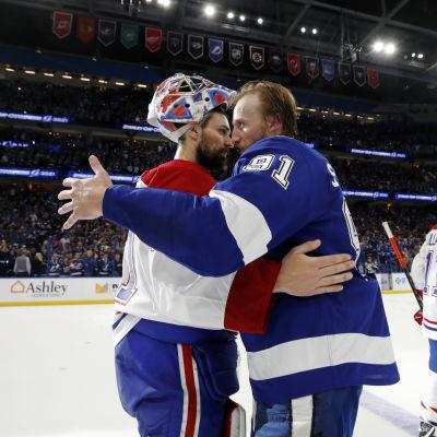 Carey Price ja Steven Stamkos halaavat NHL:n finaalisarjan ratkettua