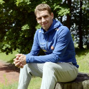 Fredric Portin i VM-2017 i Estland.