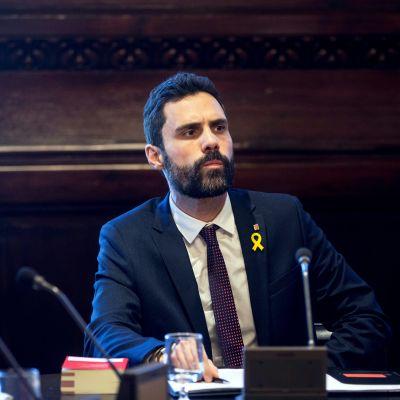 Det katalanska parlamentets talman Roger Torrent försäkrar att Carles Puigdemont är den enda kandidaten till posten som ny regionpresident