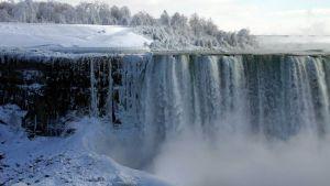 Niagaran putokset talvella