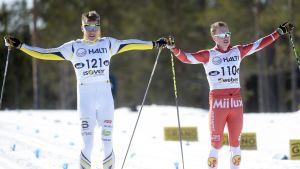 Matias Strandvall och Lasse Paakkonen.