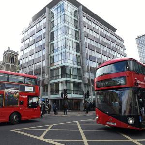 Cambridge Analyticas huvudkontor i London.