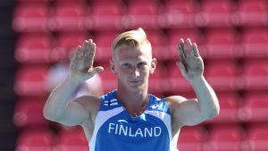 Otto Ylöstalo, U23-EM, juli 2013