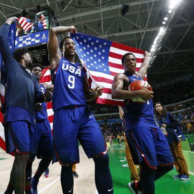 Yhdysvaltojen miesten koripallomaajoukkue voitti Rion olympialaisten viimeisen olympiakullan.