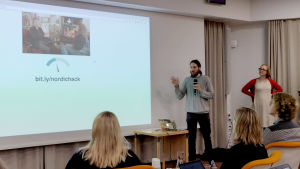 Nordic Hack Day 2018 esitys