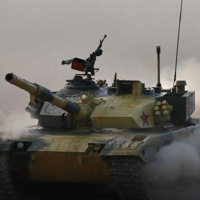 Moskovassa käydään panssarivaunukisoja