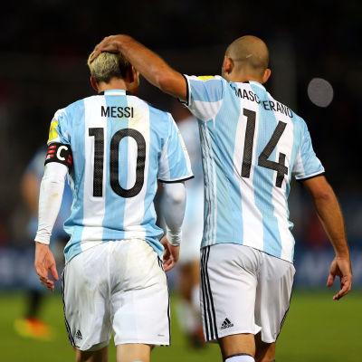 Välkommen tillbaka, kapten Messi.