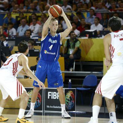 Finlands basketlandslag i VM