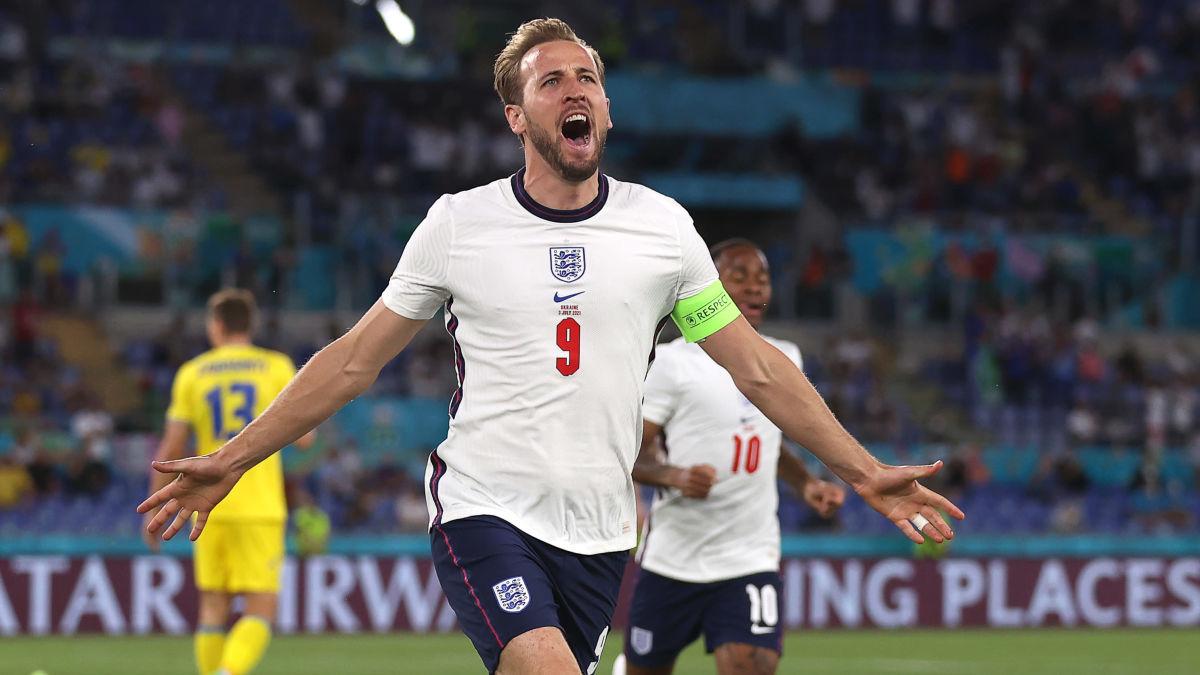 Krossen när England defilerade till EM-semifinal – skyttekungen Harry Kane har fått upp farten och gav stormvarning till ...