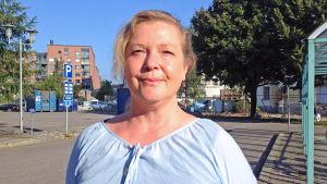 Nina Lager, turistinformationskoordinator på Visit Helsinki.