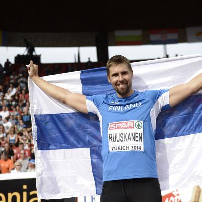 Antti Ruuskanen EM-guld 2014