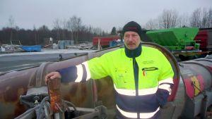 Björn Gustafsson, arbetsledare  på Vasa stad.