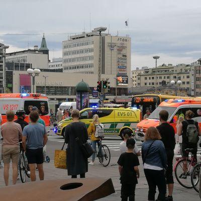 Ambulanser i Åbo.