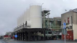 Boliden Kokkolas zinkfabrik i Karleby.