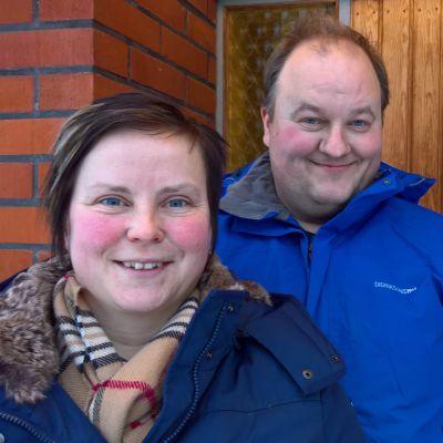 Pernilla och Mikael Björk
