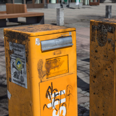 Bild på postlådor