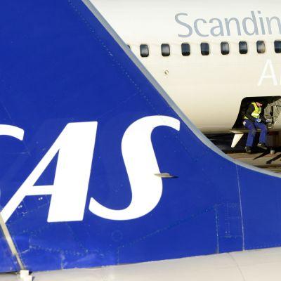 SAS-plan på Arlanda i november 2012.
