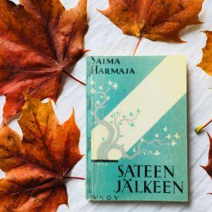 Kirjablogissa Saima Harmajan Sateen jälkeen